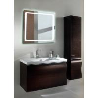 Квадратное LED зеркало с подсветкой в ванной Катро 100x100 см